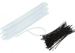 Fascette nylon bianche o nere