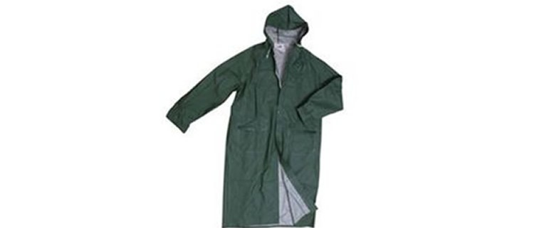 Impermeabile cappotta PVC
