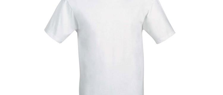 Polo manica corta bianca