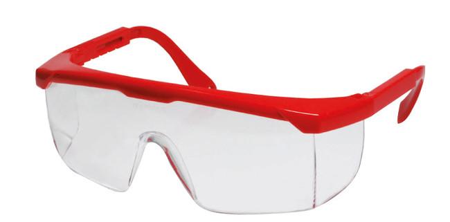 occhiali stangh. rossa