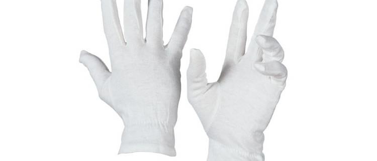 Guanto cotone